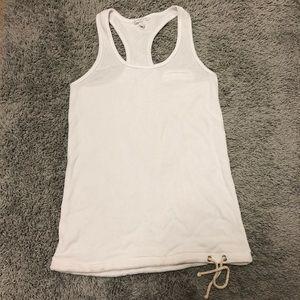 Victoria's Secret White Workout Tank Top